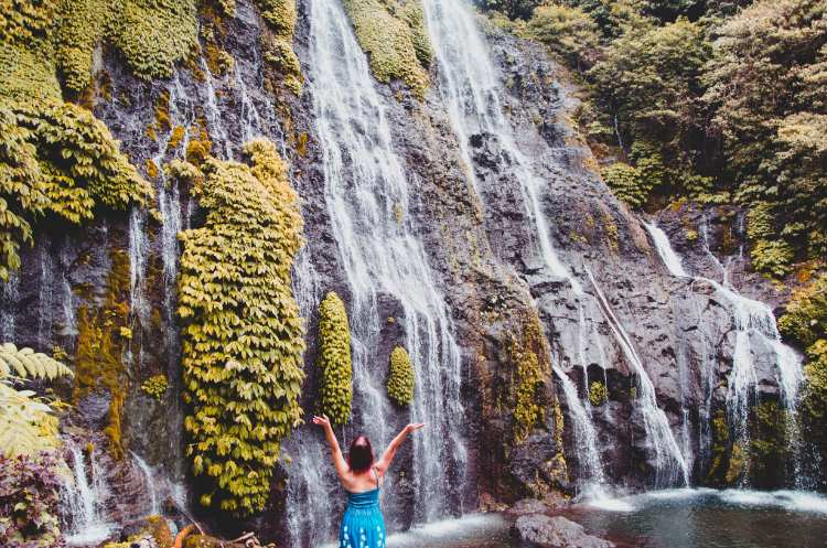How to Get to Banyumala Twin Waterfall in North Bali