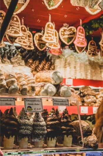 lebkuchen at Austrian Christmas markets