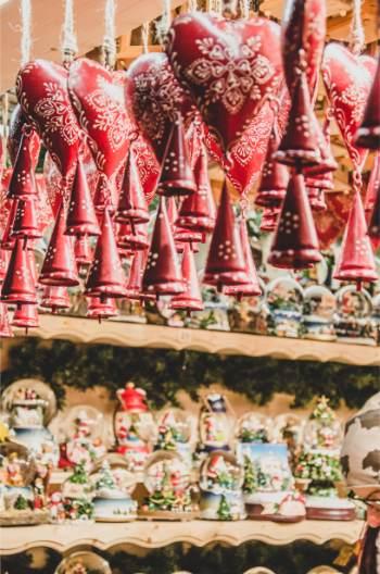 wooden hangers at Austrian Christmas markets
