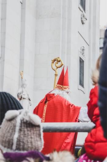 Santa in Salzburg