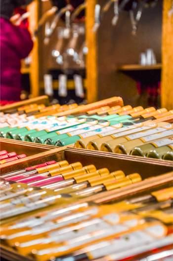 drinks at Salzburg Christmas market