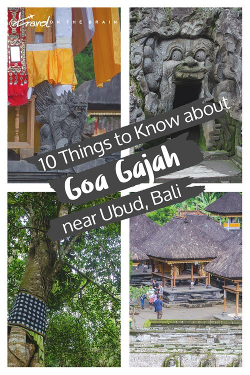 Visiting Goa Gajah - The Elephant Cave near Ubud