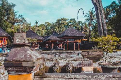 Goa Gajah Elephant cave temple