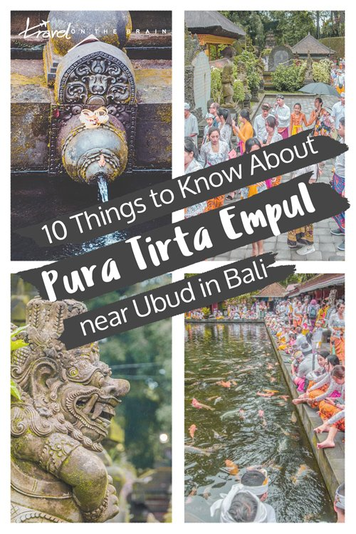 10 Things to Know About Pura Tirta Empul near Ubud