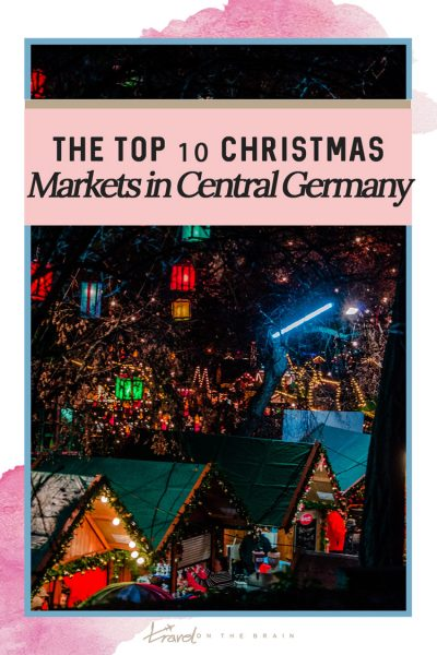 Top 10 Christmas Markets in Thuringia, Germany - For Castle & History Lovers