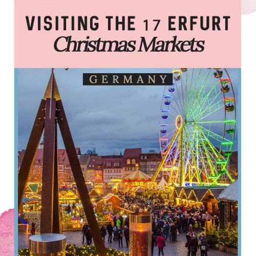 Visiting the Erfurt Christmas Market - One City, 17 Christmas Sites