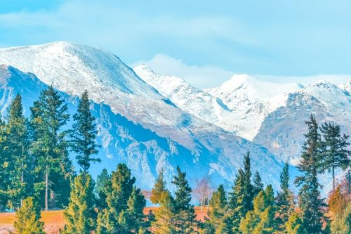 Queenstown's the Remarkables mountains- New Zealand