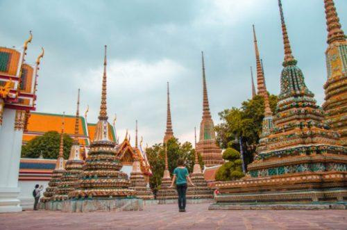 Bangkok temple - Thailand solo travel