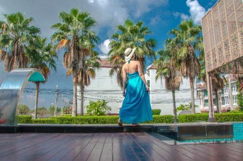 Bangkok hotel pool