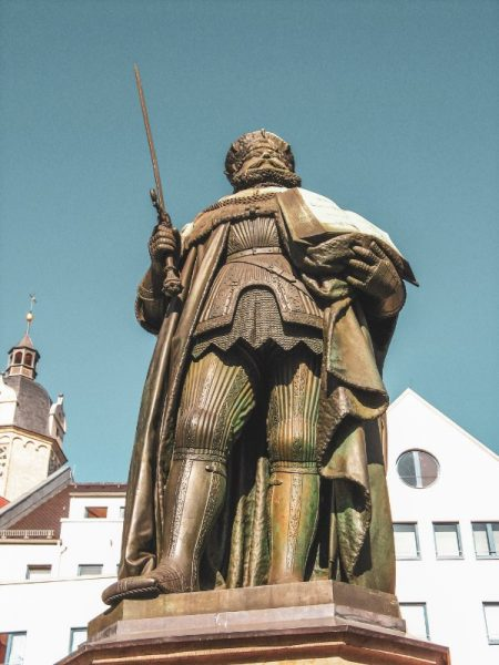 Hanfried statue - Things to Do in Jena & Surrounds