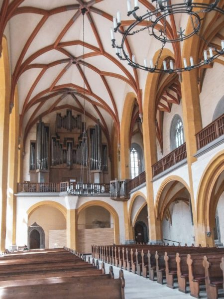 St Michael City Church inside - Things to Do in Jena & Surrounds