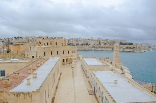 Fort Saint Angelo in Birgu Malta