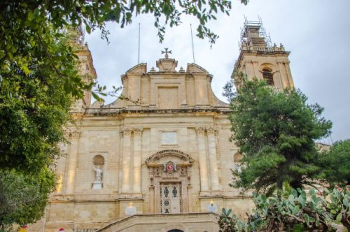 St. Lawrence's Church in Vittoriosa Malta