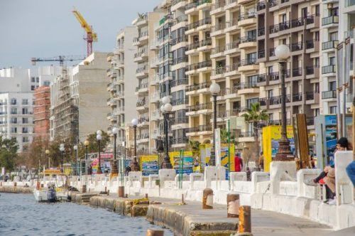 Sliema harbour Malta