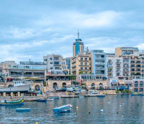 Spinola Bay St Julian's Malta