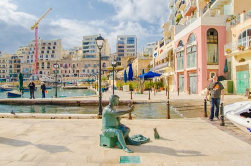Spinola Bay St Julian's Malta