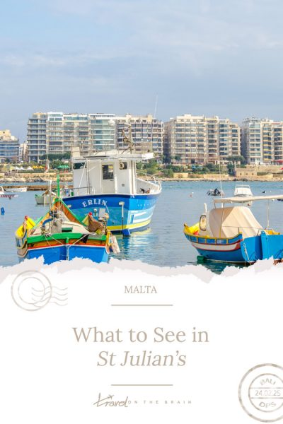 What to See in St Julian's Malta