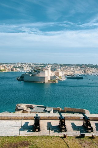 Saluting Battery Valletta Malta