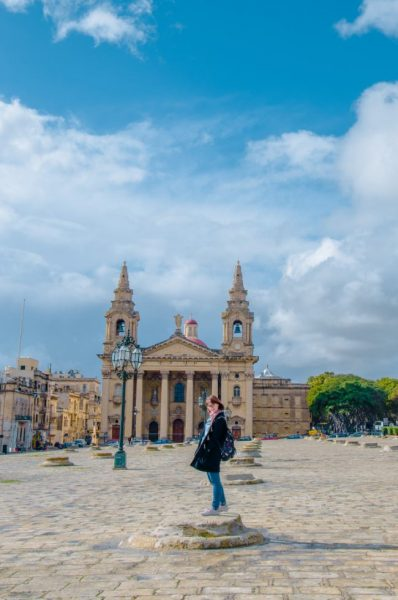 St. Publius' Square (The Granaries) Valletta