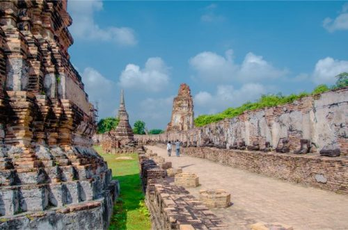 Wat Maha That Ayutthaya Temple in Thailand