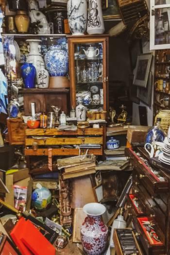 Antiquity store in Ashburton Devon