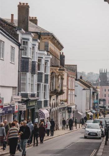 High Street, Totnes, Devon