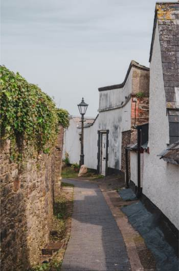 Ramparts Walk, Totnes, Devon