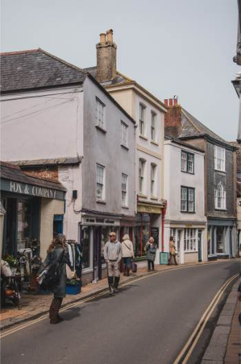 High Street, Totnes, Devon