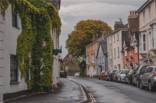 Ashburton East Street, Devon, UK