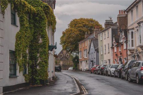 Ashburton East Street, Devon, UK