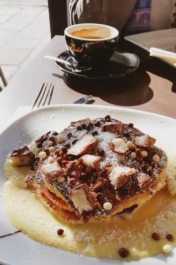 Pancakes in Sliema Malta