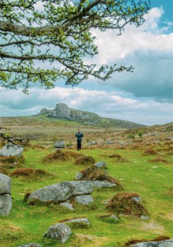 View towards Haytor from Emsworthy Rocks