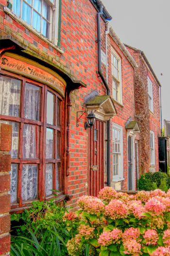 red brick house on the Isle of Wight