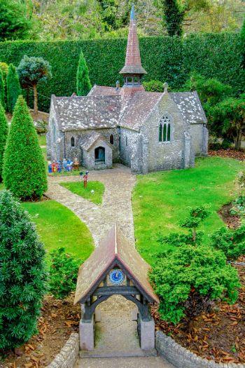 miniature villageon the Isle of Wight