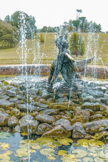 Osborne House fountain, Osborne House, Isle of Wight