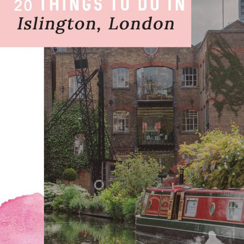 20 Things to do in Islington London for Culture and Food Lovers