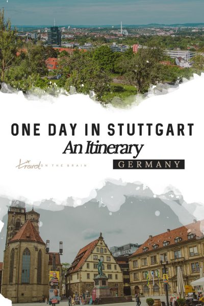 One Day in Stuttgart Pin