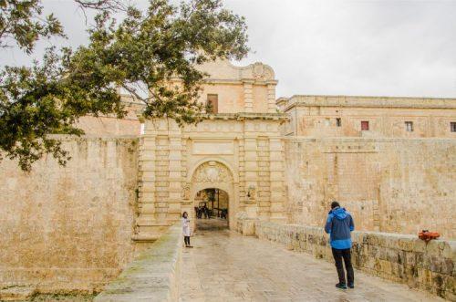 Mdina Gate in malta