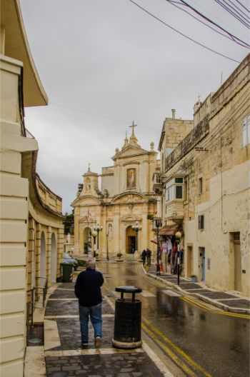 St Paul's Church in Rabat, Malta