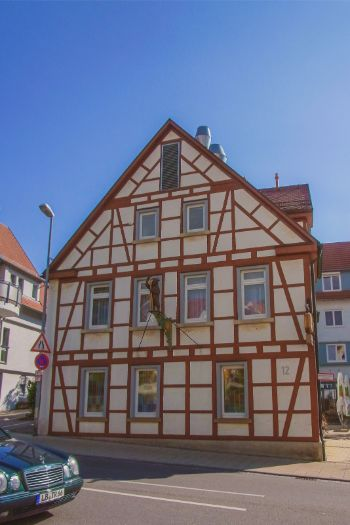 half timbered house near Stuttgart