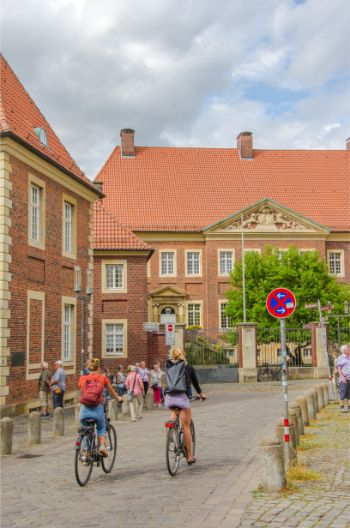 bishop residence in Münster, Germany
