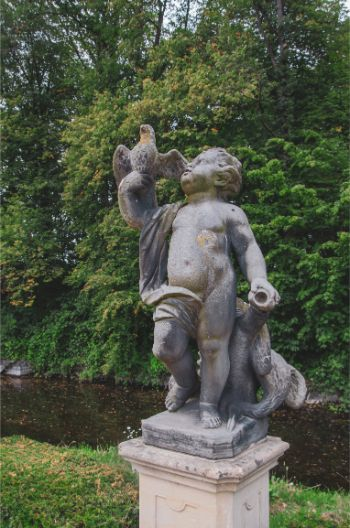statue in Haus Rüschhaus, Münster