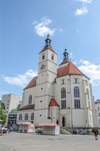 Neupfarrkirche in Regensburg, Germany