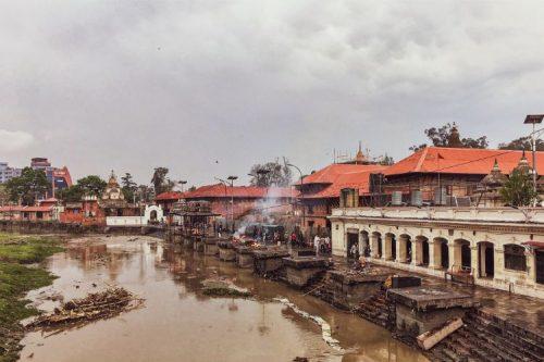 Bagmati river near Pashupatinath. Photo by Yana Maximova