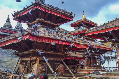 Kathmandu Durbar Square. Photo by Yana Maximova