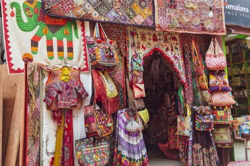 Shops in Thamel. Photo by Yana Maximova