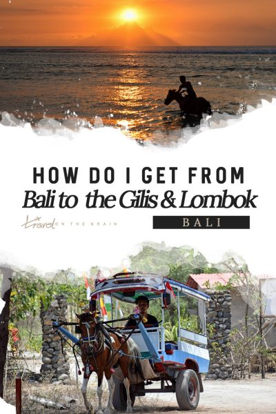 How do I get from Bali to the Gili Islands & Lombok?