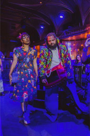 fashionable street styles at NYFW 2019