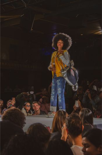 sassy back to school styles on the Andre Emery at NYFW2019