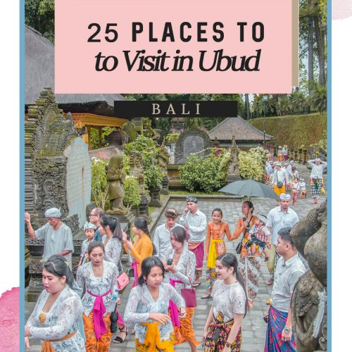 25 Top Places to Visit in Ubud - What to See & Do in Ubud